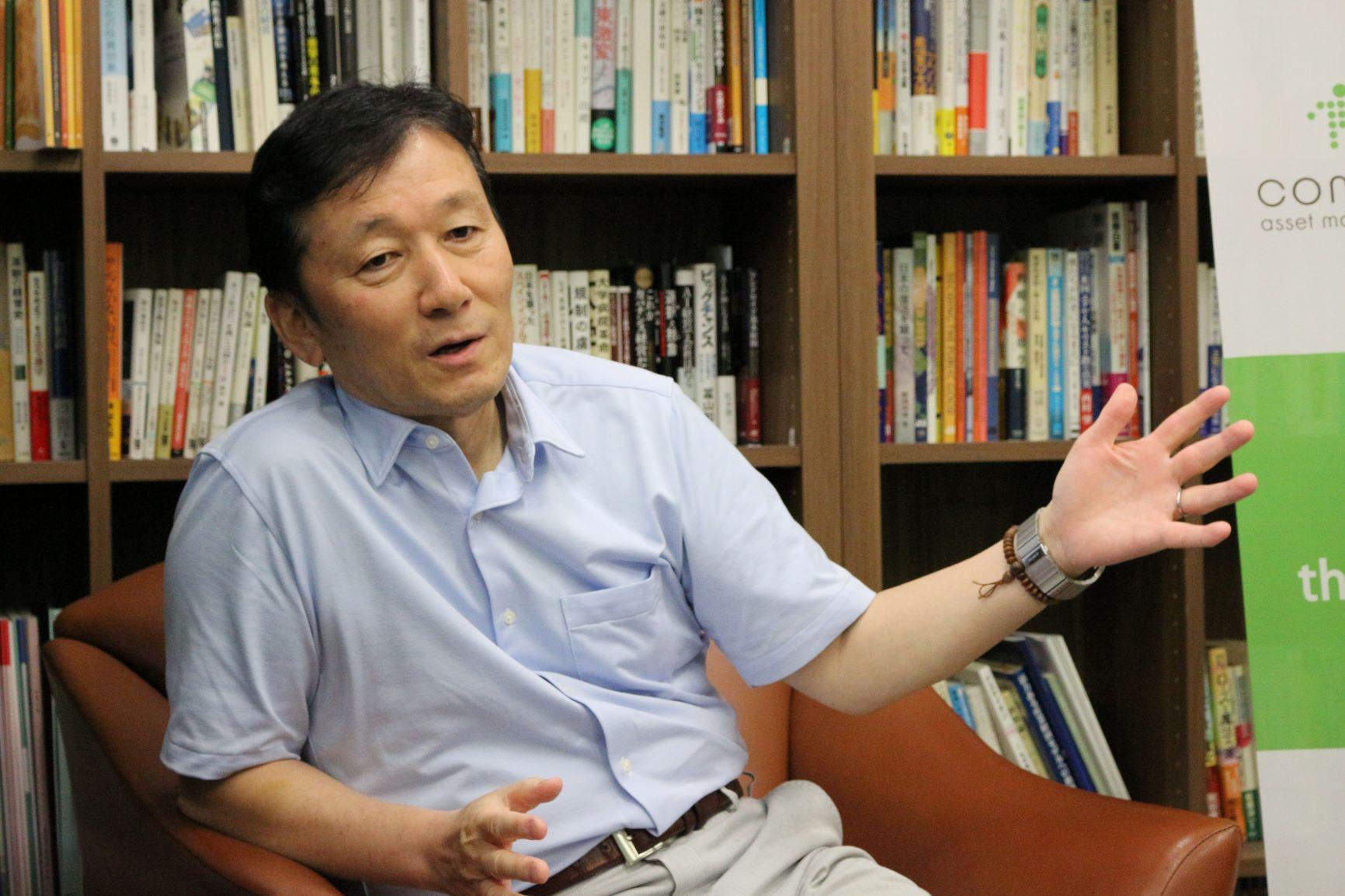 コモンズ投信株式会社代表取締役社長 伊井哲朗様